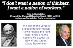 Rockefeller New World Order
