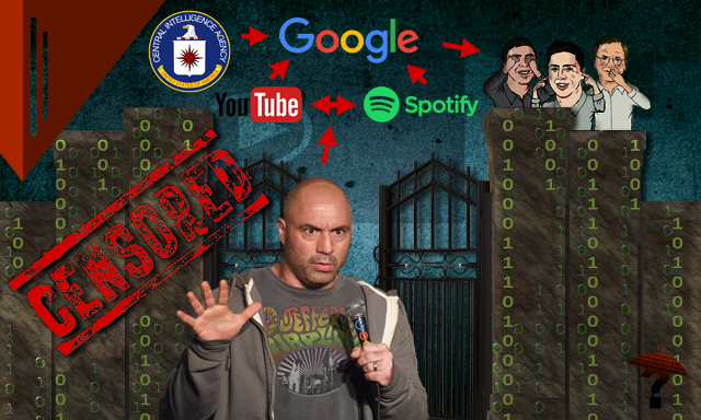 Joe Rogan: Google's Most Valuable Internet Gatekeeper and Disinformation Agent